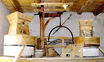 Mühle mehl mahlen