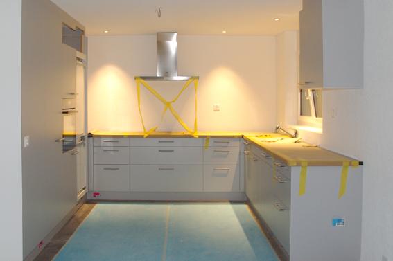 Küche Hausbau